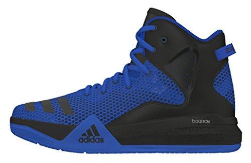 adidas Dt Bball Mid J, Zapatillas de Baloncesto para Niños Azul (Azul / Negbas / Reauni)