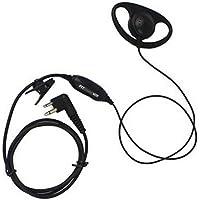 KENMAX 2 PIN D Shape Earpiece Headset Headphone for Motorola XTN446 CLS1110 SV10 MV11 CP88