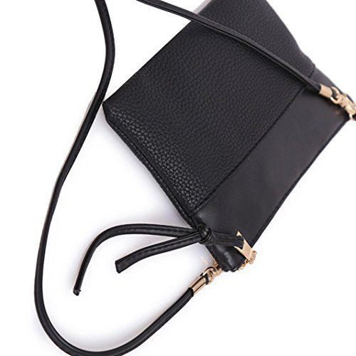 PU Shoulder Leather Purse for Bags Handbags FDelinK Handle Women Handbags Ladies Black Tote Top Hobo Large xI0Rw0TqY