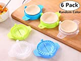 6 Pack Dumpling Maker, Magnolora Dough Press Dumpling Mold, Ravioli Mold, Pierogi Maker