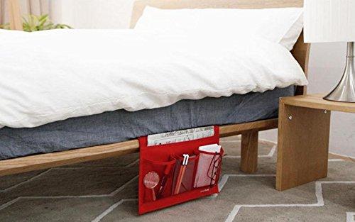 HAKACC Bedside Caddy,Sofa Table Mattress Book Remote Caddy,R