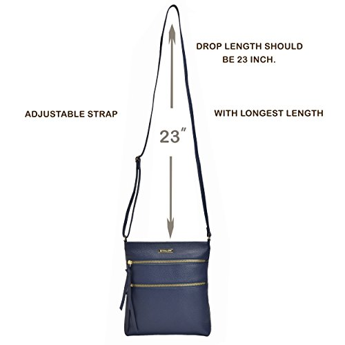 Luxury Shoulder Body Over Womens Navy Handbags And Leather Bag For Purse Premium Women Crossbody Pebble Cross The Crossover Purses 4gAnq7