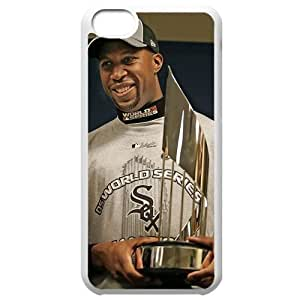 MLB Iphone 5C White Chicago White Sox cell phone cases&Gift Holiday&Christmas Gifts NBGH6C9126374