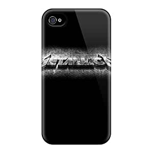 ZachDiebel Iphone 4/4s Excellent Hard Cell-phone Cases Custom Stylish Metallica Image [xyL8718qcEc]