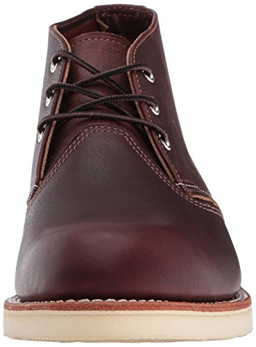 Red Wing Shoes - Zapatos de cordones de cuero para hombre Dark Brown