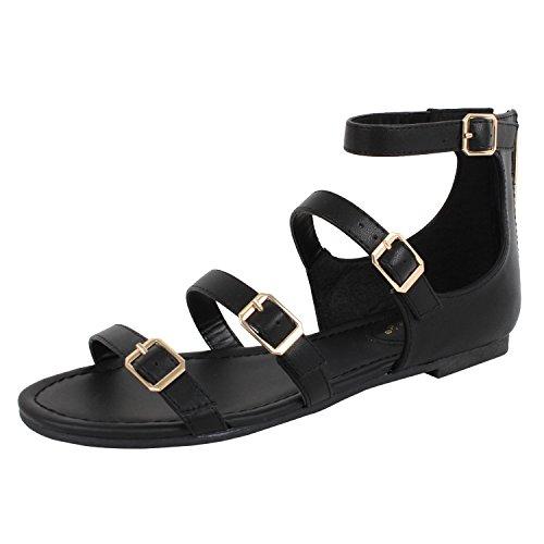 Pu Womens Fashion Sandals - 5