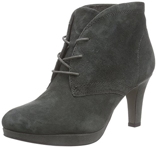 214 Anthracite Grau mujer Tamaris 25107 botas cuero gris de SwwBvaq8