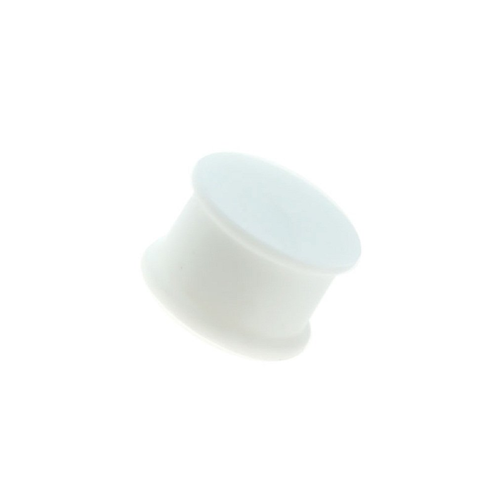 Freedom Fashion Flexible Double Flared Flat Silicone Solid Colored Saddle Plug Sold Pair