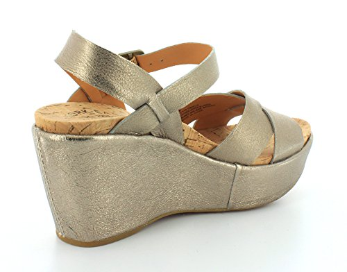 Kork Womens Ava Ease Wedge 2 Gold Soft 0 BrRBUSWH
