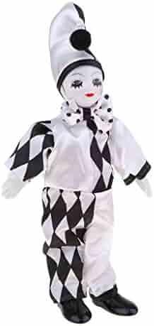 Dolls & Accessories KESOTO 38cm Vintage Hand Painted Porcelain Clown