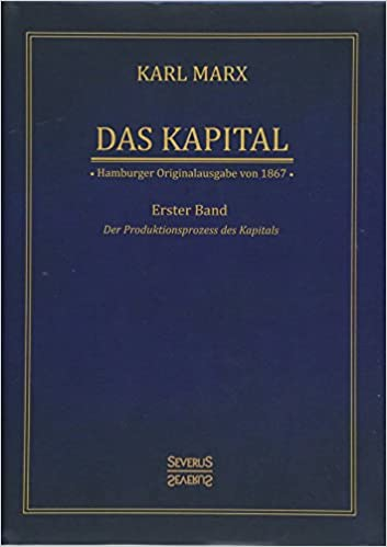 Das Kapital Karl Marx Hamburger Originalausgabe Von 1867 Band 1