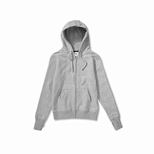SG - Chaquetilla con capucha y cremallera para mujer Blanco