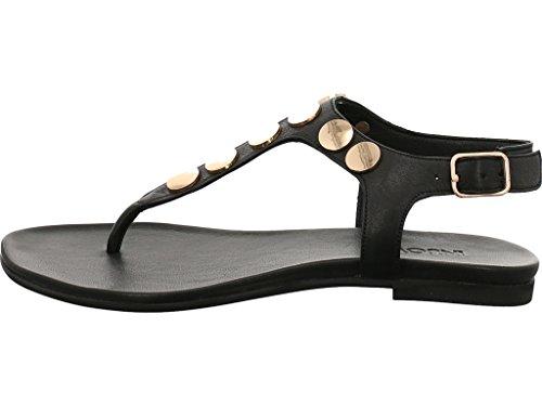 Inuovo Zehensteg Sandale Größe 41 Black/Gold Y5hUn