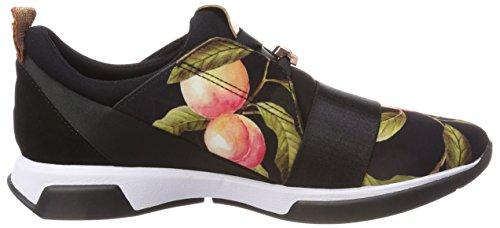 Baker Femme Cepap Ted Baskets peach Noir Black Blossom d1tTqTa7W