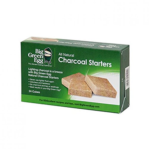 - Big Green Egg All Natural Charcoal Starters - 24 cubes