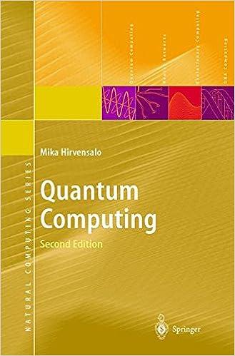 Quantum Computing (Natural Computing Series): Amazon co uk: Mika