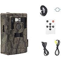 Snyper Vision Deer Trail Camera White Flash | 12 MP Hunting Trail Camera 1080p Video Audio | Amazing DSLR quality game camera (Camo, Standard)