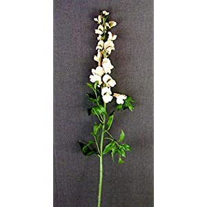 Yves Decor Velvet Snapdragon Artificial Flower Spray, Beige 117