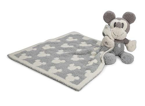- Barefoot Dreams CozyChic Vintage Mickey Mouse Blanket Buddie, Ocean