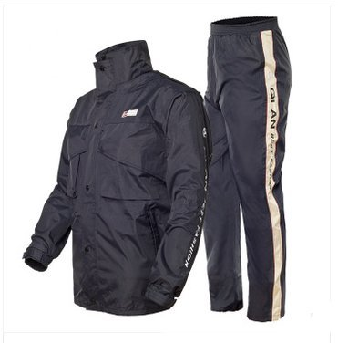 Outdoor Peak Motorrad Regenmantel Fahrrad Regenmantel regen anzug Herren und Frauen regen Hosen und Jacke (tiefblau, XXXL 175~180 cm 80 ~89kg)