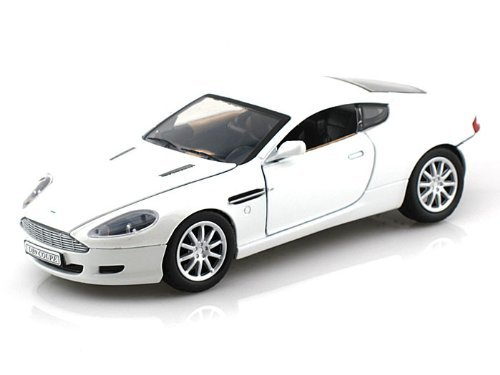 Aston Martin Db9 Coupe (MotorMax (motor Max) Aston Martin (Aston Martin) DB9 coupe 1/24 White MM73321-WH minicar die-cast vehicles (parallel import))