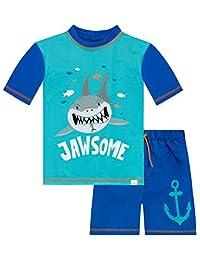 Harry Bear Boys Shark Two Piece Swim Set