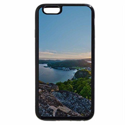iPhone 6S / iPhone 6 Case (Black) Beautiful Lake View