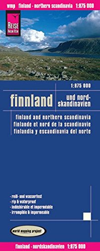 Reise Know-How Landkarte Finnland und Nordskandinavien (1:875.000): world mapping project (Spanisch) Landkarte – Folded Map, 31. Oktober 2011 3831771855 Europa Karten Karten / Stadtpläne / Europa
