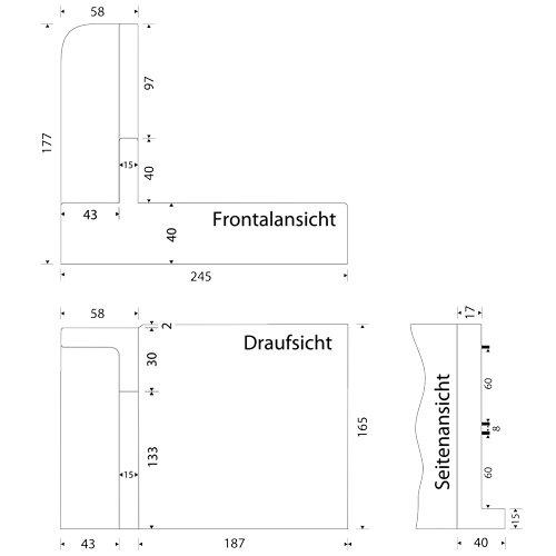 E 20 Ersatz-Schlitten f/ür den E 120 SCALEA 5 SOLIDA 3 und SOLIDA 5 Allesschneider von Ritter //