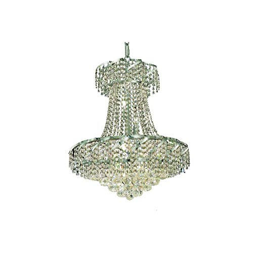 Belenus Collection Chandelier D:22in H:26in Lt:11 Chrome Finish (Swarovski¨ Elements Crystals) ()