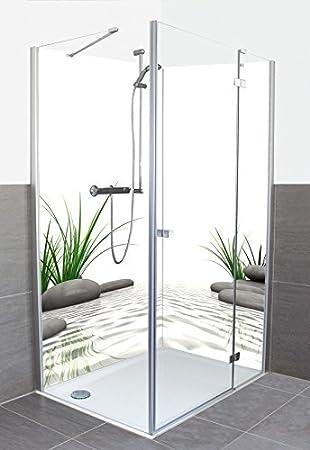 Fabulous Wunschmaß Duschrückwand Fliesenersatz mit Motiv aus Aluminium QT85