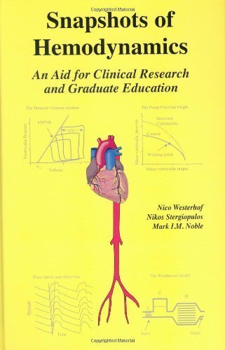 Snapshots of Hemodynamics 1st Edition by Westerhof, Nico; Stergiopulos, Nikos; Noble, Mark I.M.; Nobl published by Springer Hardcover