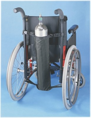 Wheelchair Accessory, Oxygen Tank Holder - 1 Each / Each - 43-2281 by Fabrication