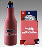 SET OF 2 SEATTLE SEAHAWKS PINK WOMENS KOOZIE COOZIE For Sale