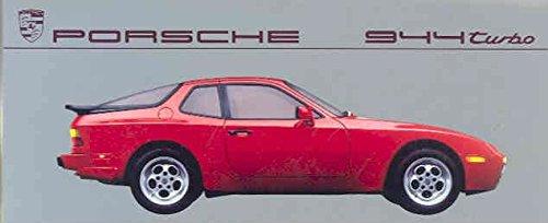 1987 Porsche 944 Turbo Color Brochure