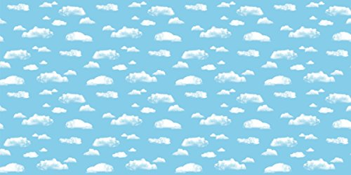 Fadeless  Bulletin Board Art Paper, Clouds,  48