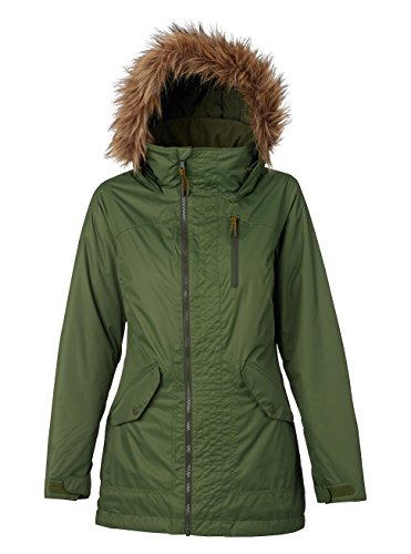 Green Snowboard Jacket (Burton Women's Hazel Jacket, Rifle Green, X-Large)