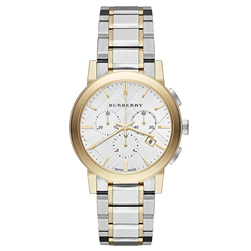 - Burberry The City Two-Tone Chronograph Unisex Watch BU9751