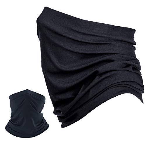 SANTOO Halstuch Schlauchtuch Mundschutz Nasenschutz Multifunktionstuch Atmungsaktiv Weich Super Elastisch Sonnenschutz Schlauchschal Gesichts Maske für Motorrad Laufen Wandern Damen Herren