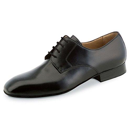 Werner Kern - Herren Tanzschuhe 28013 - Leder Schwarz - für breite Füße