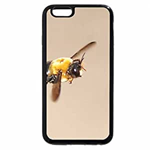 iPhone 6S / iPhone 6 Case (Black) flying bee
