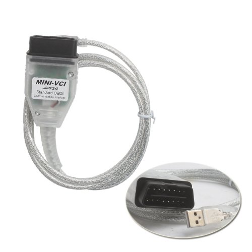 Mini VCI V13.00.022 Single Cable for Toyota Support Toyota TIS OEM Diagnostic Software by Generic (Image #2)