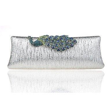 SUNNY KEY-Clutches@Damen Abendtasche Polyester Ganzjährig Formell Veranstaltung / Fest Hochzeit Schminktäschchen Kristall/ Strass Klammer-VerschlussGold