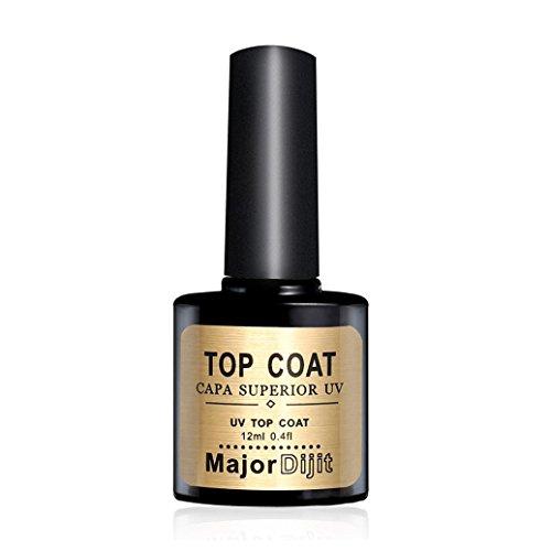 Repair Top Coat Long-lasting Soak-off LED UV Gel Color Hot Nail Gel 12ML