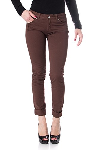 Stretch Donna P95 Slim Please Marrone Jeans qH7wg