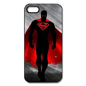Superman iphone 5S,5 case Man of Steel Personalized Hard Plastic Back Protective Case for iPhone 5/5S
