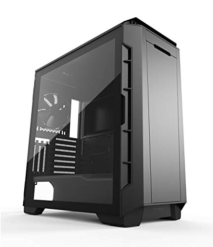 Phanteks Eclipse P600S Hybrid Silent and Performance ATX Chassis - Tempered Glass, Fabric Filter, Dual System Support, Massive Storage, PWM hub, Sound dampening Panels, Black (Best Atx Pc Case 2019)