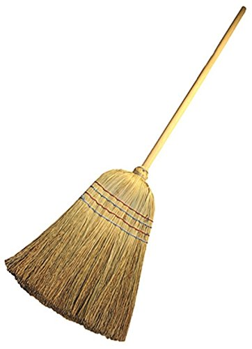 Traditional American Corn Sweeping Broom