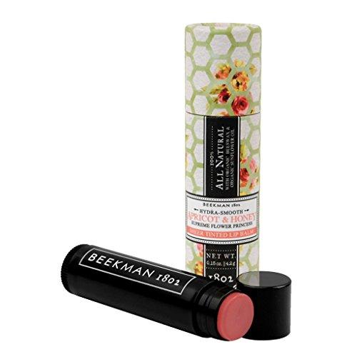 Beekman 1802 All Natural Lip Balm (Apricot & Honey)