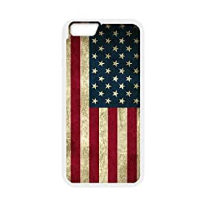 """Winfors American Retro Flag Phone Case For iPhone 6 / 6s (4.7"""") [Pattern-6]"""